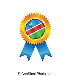 Namibia medal flag