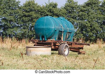 namočit, bojiště, cisterna, karavan, dobytek