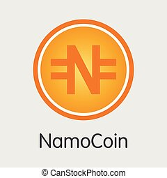 Namocoin Cryptographic - Vector Colored Logo. - Namocoin - ...