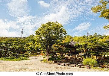 Namsangol Hanok Village in South Korea