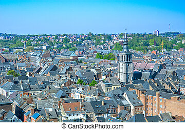 Namur, city in Belgium by river Meuse, Walloon region