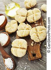nan, hathi.indian, tradicional, biscoitos