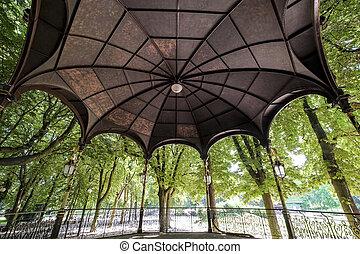 Nancy (France) - Gazebo in the park