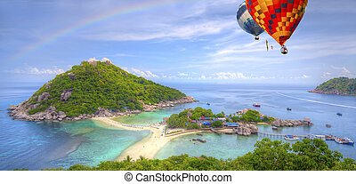 nangyuan, isla, Tailandia