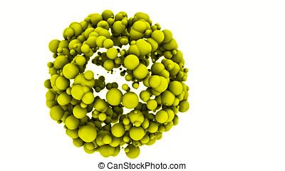 Nanoparticles - Nanomedicine - Abstract Illustration