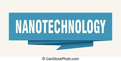 nanotechnology sign. nanotechnology paper origami speech...