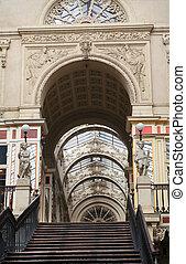 Nantes, France: Passage Pommeraye - 19th century entrance to...