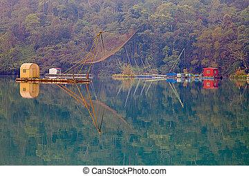 nantou, שמש, אגם, טייוואן, ירח