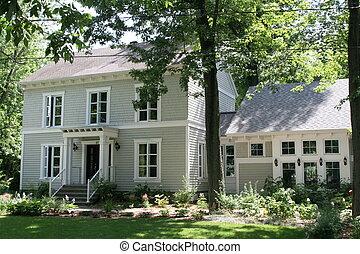 Nantucket style house