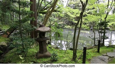 Nanzen-ji Zen Garden - The beautiful Japanese garden around...