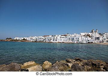 Naousa on Paros island in the Cyclades (Greece)