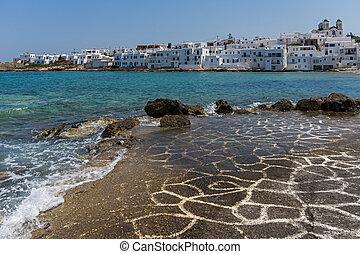 Naousa town, Paros island, Cyclades