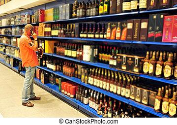 napój alkoholowy zaopatrują