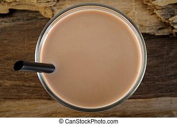 napój, mleczna czekolada