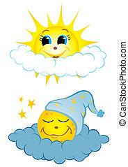 nap and éjszaka