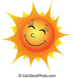 nap, boldog