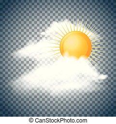nap, bolyhos, elhomályosul