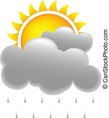 nap, eső