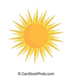 nap, ikon, ábra