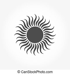 nap, ikon, jelkép