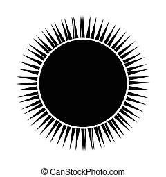 nap, kivonat alakzat
