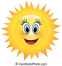 nap, mosolygós