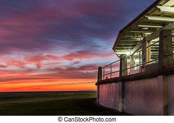Napier Dawn Sky
