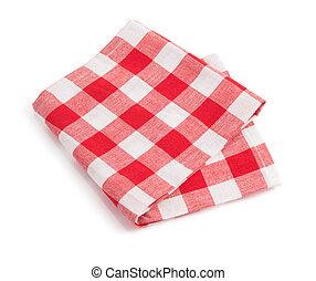 napkin on white background - napkin isolated on white...