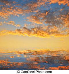 naplemente ég