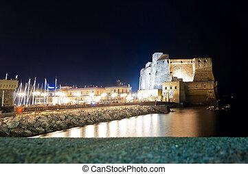 Castel dell'Ovo in Naples, Italy.