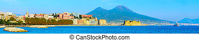Naples panorama, Italy