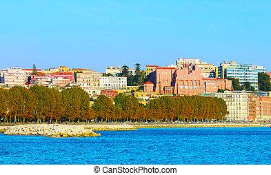 Naples quayside, Italy