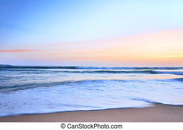 napnyugta, képben látható, tenger