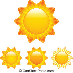 napok, állhatatos, küllők, csillogó