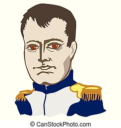 Napoleon Bonaparte great French statesman, military leader and Emperor. Napoleon was great, invincible warlord, general and author of Napoleonic Code. His only defeat in Battle of Waterloo