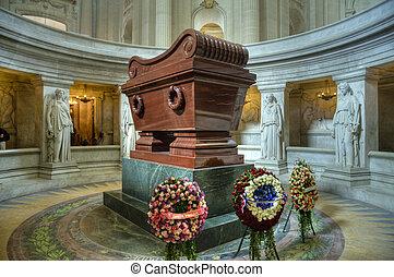 Napoleon's tomb at Les Invalides, Paris, France