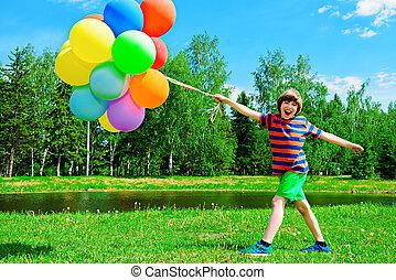 napos, gyermekkor, boldog