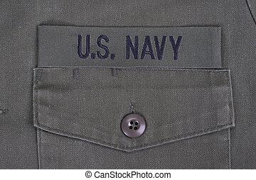 nappal, kutya, bennünket, egyenruha, tiszta, haditengerészet