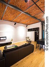 nappali, alatt, a, attika