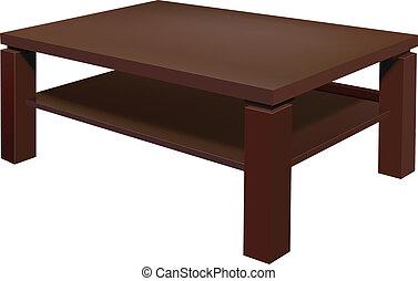 nappali, asztal