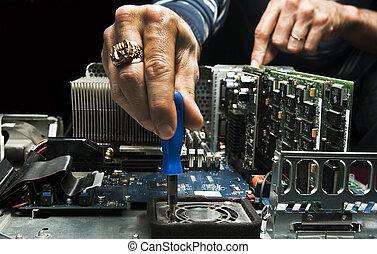 naprawa, komputer