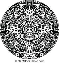 naptár, mayan