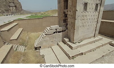 Cube of Zoroaster - Naqsh-e Rustam's historical monument...