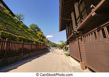 Narai is a small town in Nagano Prefecture Japan