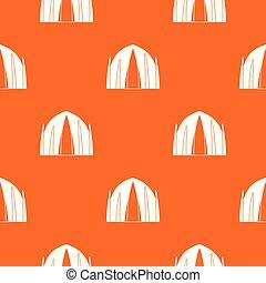 narancs, épület, vektor, emberi, motívum