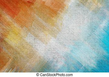 narancs, blue háttér