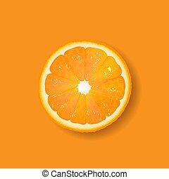 narancs, gyümölcs, transzparens