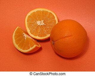 narancs, narancsfák