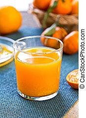 narancslé, friss