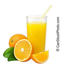 narancslé, narancsfák